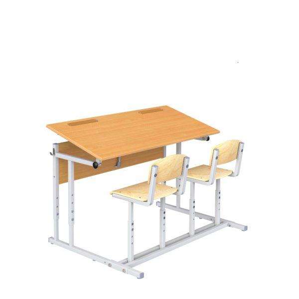 парта со стульями