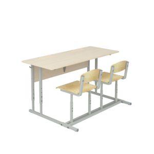 Парты школьные ученические, регулируемые по высоте