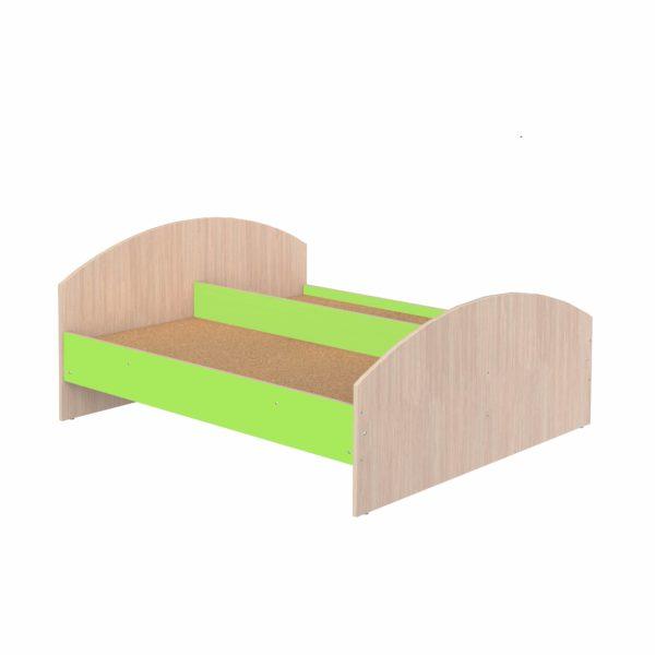 кровать детская цветная