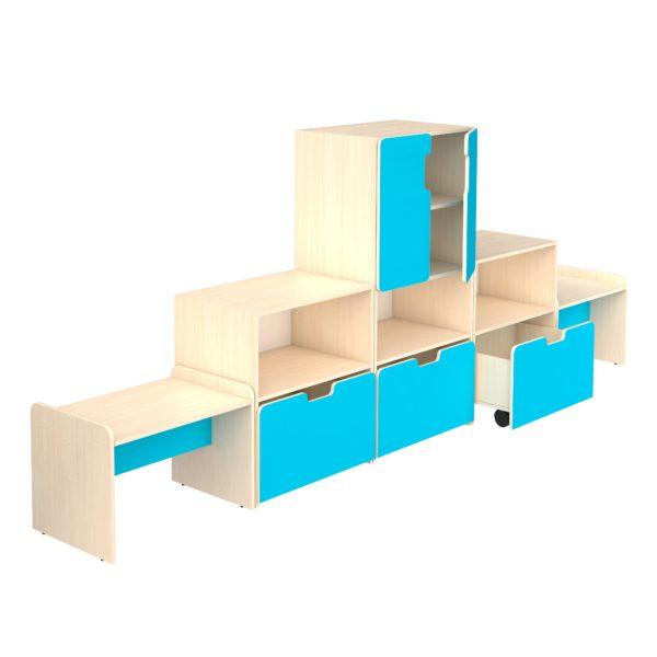 Мебель для игровой комнаты детского сада 1
