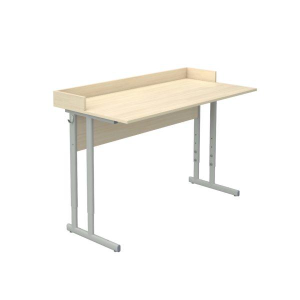 Стол ученический регулируемый для кабинета физики с бортиком р.гр.№4-6