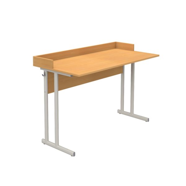 Стол ученический лабораторный для кабинета физики с бортиком р.гр.№6