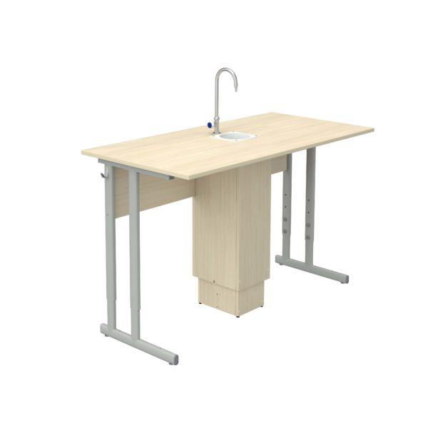 Стол ученический регулируемый для кабинета химии р.гр.№4-6