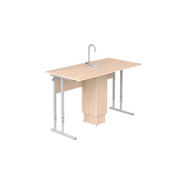 Стол ученический регулируемый для кабинета химии