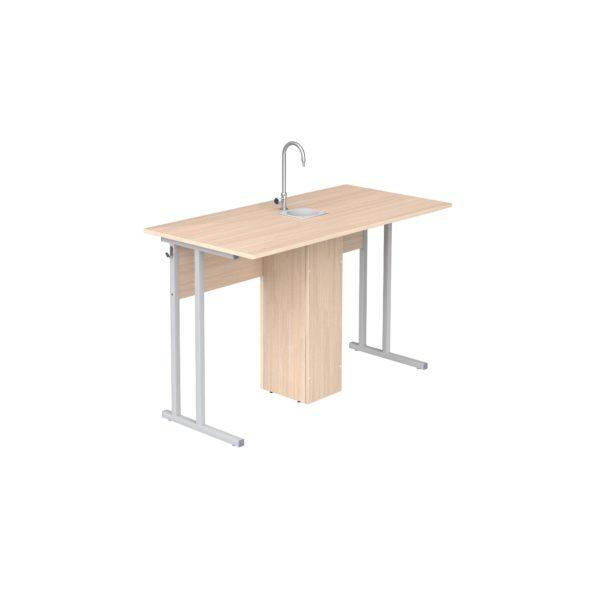 Стол ученический лабораторный для кабинета химии р.гр.№6
